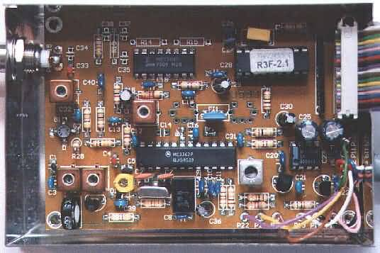 UHF Empfänger für 137 MHz