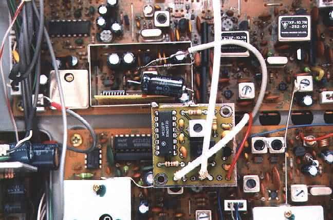 Einbau des 9k6 ZF-Demodulators