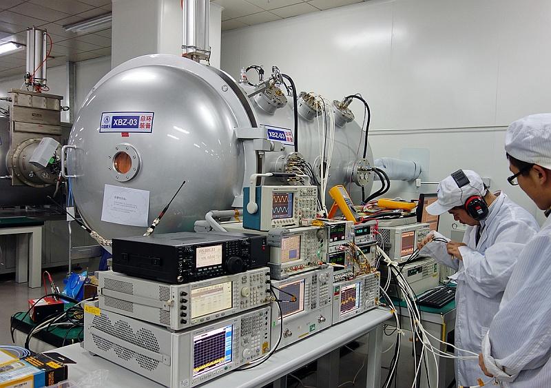 XW-2 thermal vacuum test
