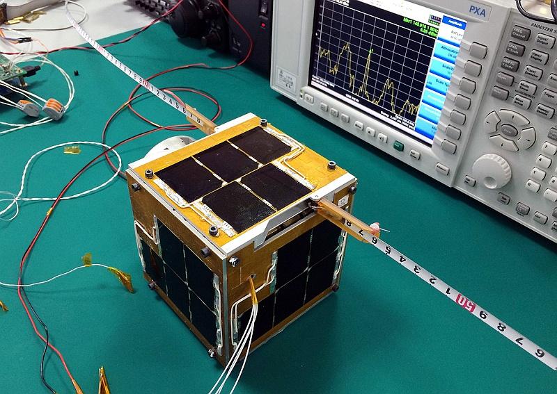 XW-2E flight module in test