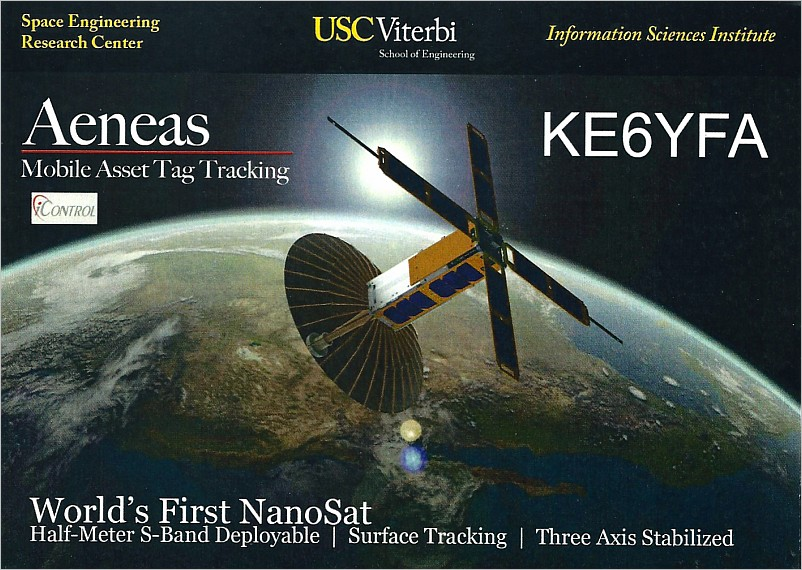 AENEAS QSL front