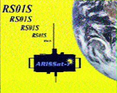 ARISSat-1 SSTV #1