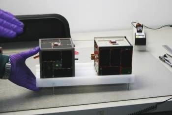 AGGIESAT-2 und BEVO-1