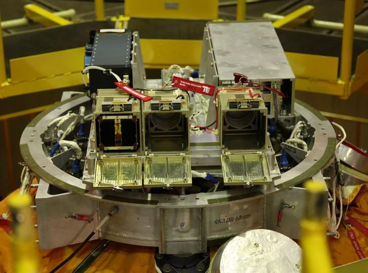 CubeSats auf BION-M1