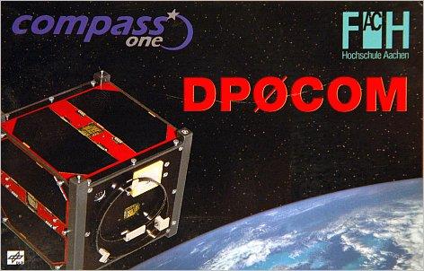 COMPASS QSL Karte