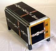 CubeSat CUTE-1.7+APD ohne Solarzellen