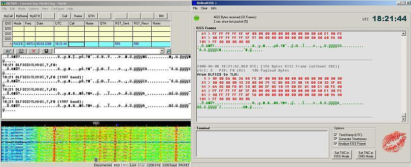 Dekodierung mit MixW32