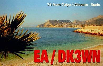 EA/DK3WN QSL