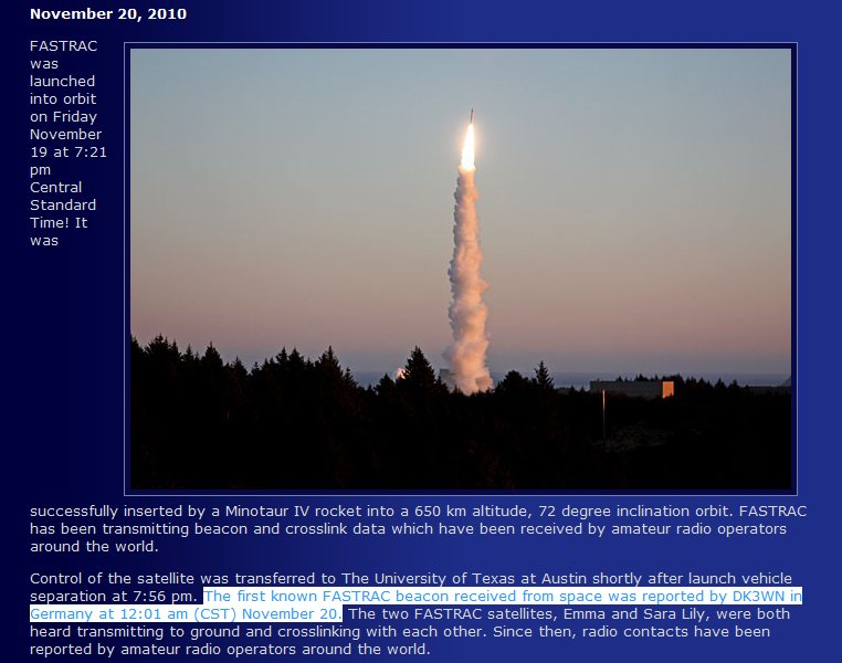 Launch from Kodiak