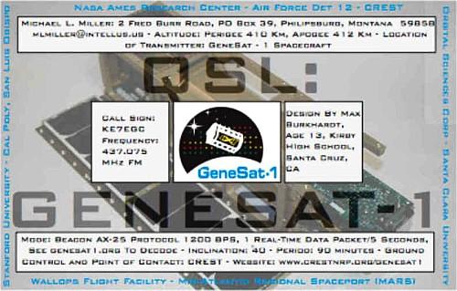 GeneSat eQSL