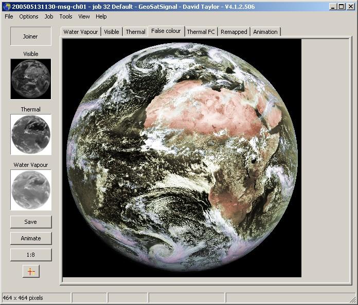 GeoSatSignal 4