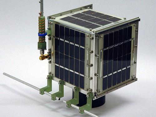 HITSAT-1 (c) Hokkaido Institute of Technology