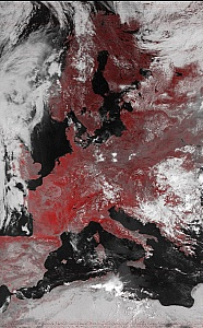 NOAA-17 False Color