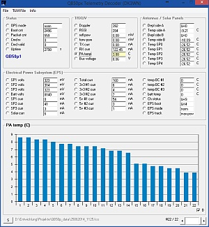 QB50px Telemetry Decoder