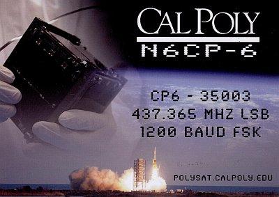 CP-6 QSL