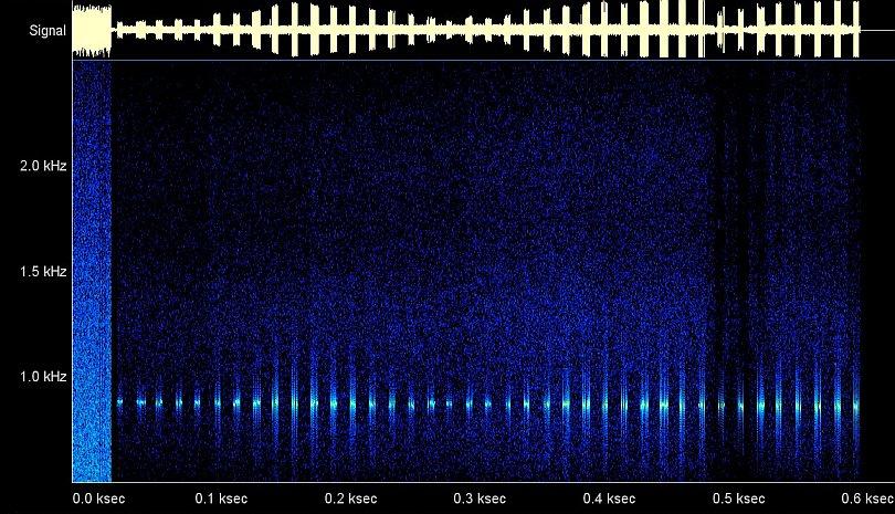 konstante Audiofrequenz mit TLE OBJ A