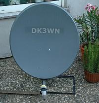 Satellitenschüssel DK3WN