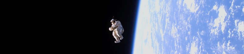 (c) NASA Suitsat in Space